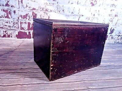 Vintage Industrial Wooden Heinz Box Crate Container Advertising Kitchenalia Prop