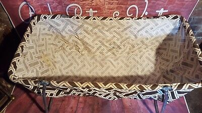 Vintage Retro Old Baby Cot 1970'S Upcycle Washing Linen Basket Bin Shop Retail
