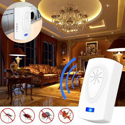 Electronic Ultrasonic Pest Mosquito Mice Cockroach Mouse Killer Repeller Control