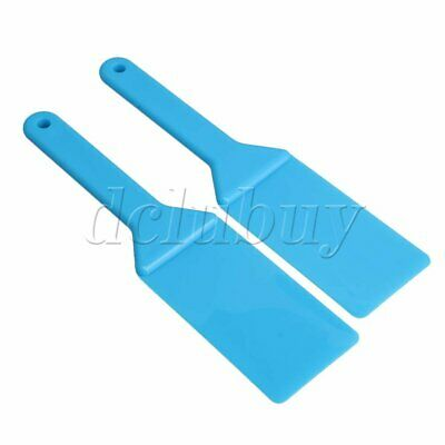 Plastic Spatulas Ink Scoop Ink Apply Shovel Tool Offset Pack of 2