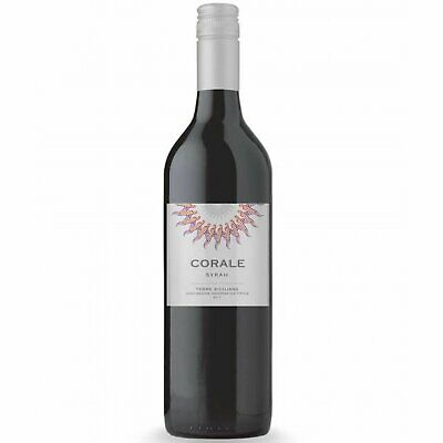 RRP $150 Italian Sicilly Corale Syrah 2017 Red Wine (6x750ml) Free Shipping!