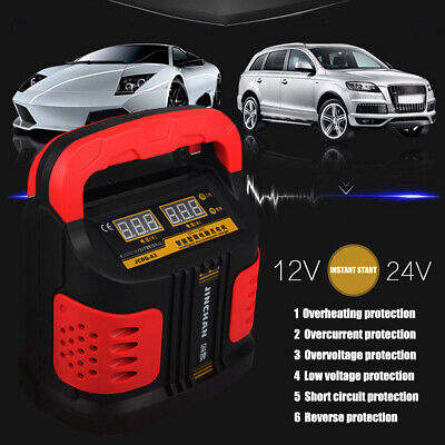 12/24V 14Amp Car Jump Starter Battery Start Charger Portable AUTO Van   !