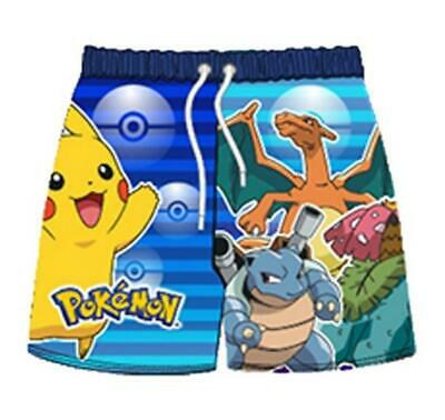 530f31db28 POKEMON PIKACHU GRAPHIC Swim Trunks Shorts Bath Beach Boys NEW S/Med ...