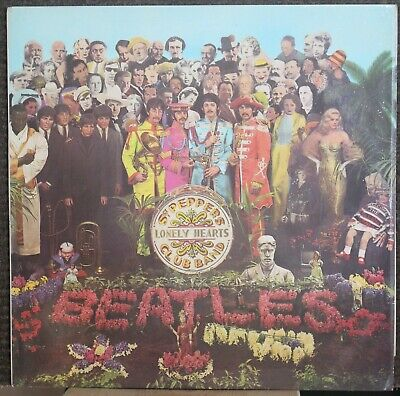 Beatles (1967) Sgt Pepper's Lonely-Hearts Club Band EX+/EX 1st Press? Parlophone