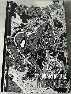 SPIDER-MAN - Masqués (VF) - BLACK & WHITE COVER - Todd McFARLANE