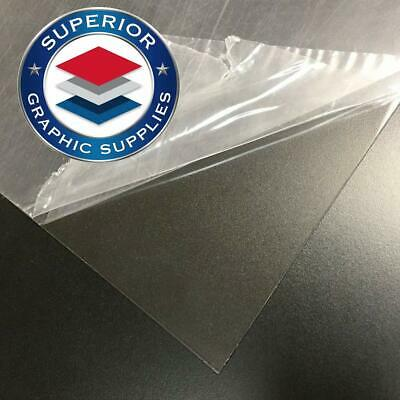 """PETG Acid Free Clear Plastic Sheet (48""""X96"""") 20mil - Clear 1 Flexible Strong"""