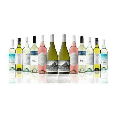 Premium Mixed White Wines from Australia and New Zealand (12x750ml) Free Ship