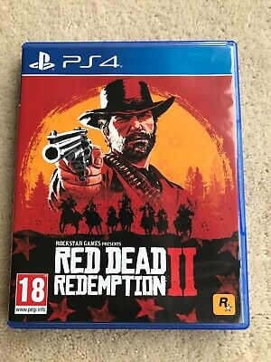 Red Dead Redemption 2 -PS4 game