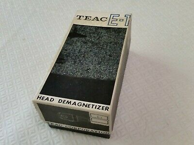 TEAC Model E-1 Tape Head Demagnetizer 220/240V VINTAGE ORIGINAL (Demagnetiser)