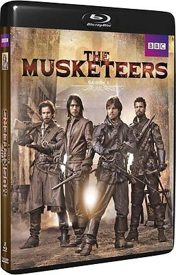 COFFRET BLU-RAY THE MUSKETEERS SAISON 1 Neuf Sous Blister