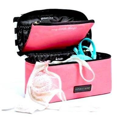 Victorias Secret Getaway Weekender Travel Lingerie Train Case NWT