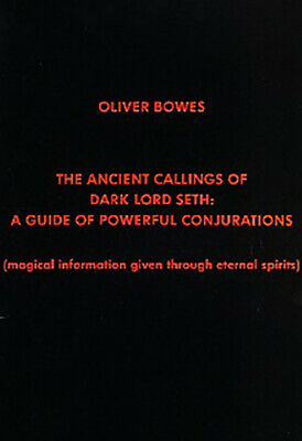 ANCIENT CALLINGS OF DARK LORD SETH Bowes Finbarr Black Occult magick Grimoire