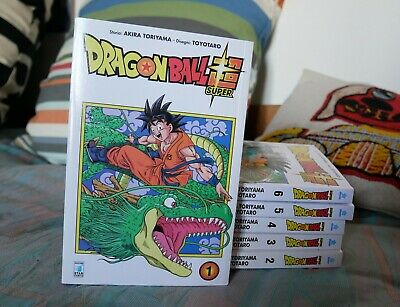 Dragon Ball Super volumi 1-6 Star Comics Manga Akira Toriyama