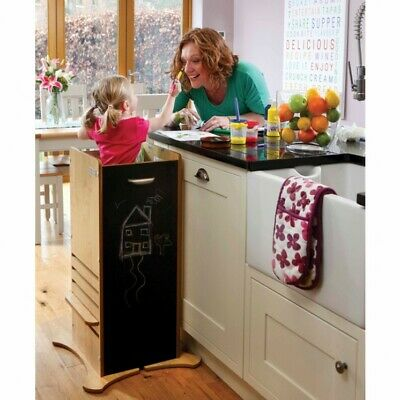 ❤️ Little Helper FunPod Kitchen Safety Stand Maple - Next Working Day Delivery ❤