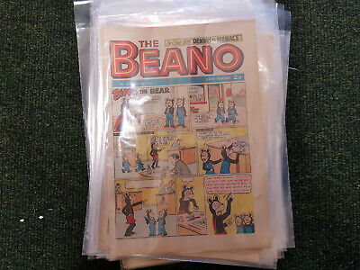 BEANO COMIC - 35 issues from 1973