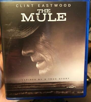 The Mule 2019 Dvd Disc and digital. Free shipping. Clint eastwood
