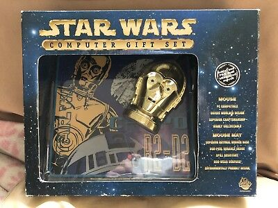 Star Wars Computer Gift Set (1998) 20yrs Old In Box
