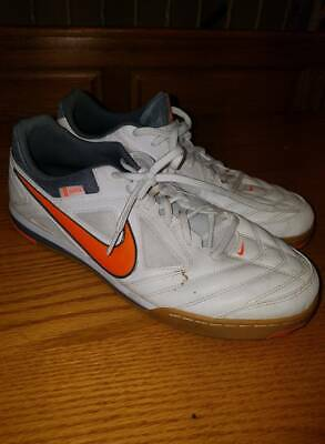 77b6d8acf Nike Gato Size 11 White Mens Indoor Soccer Tennis Shoes Sneakers 415122-180  (S3