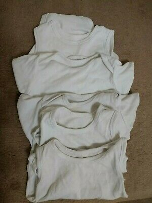 Bundle 5 Girls Boys Body Suits 18-24 month up to 92cm Mothercare all in one baby
