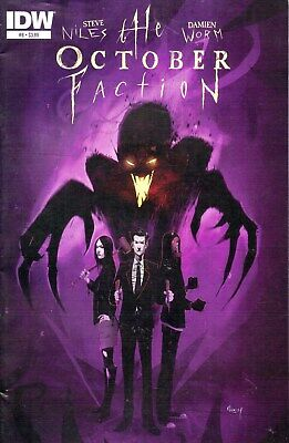 The October Faction #8 Steve Niles IDW Comics Forthcoming Netflix Show 1st Print