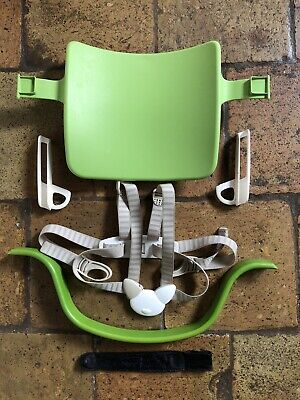 Stokke Tripp Trapp Baby Set (old style) - Green, With Harness - VGC