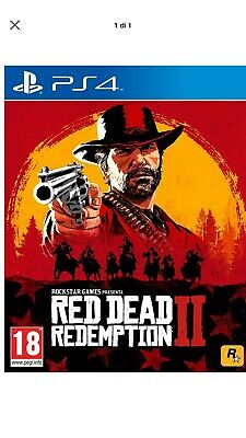 red dead redemption 2 ps4 Accaunt