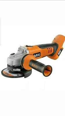 """AEG-18V 115mm 4.5"""" CORDLESS ANGLE GRINDER unit only RRP £109 BRAND NEW"""