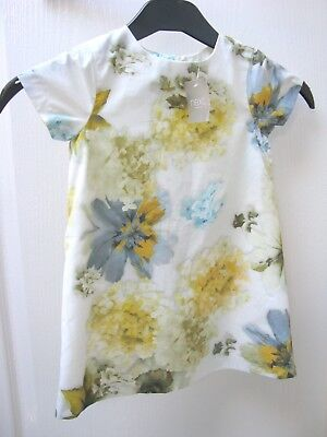 BNWT Next Hydrangea Special Occasion Dress 18 - 24 months Baby Girl Party Floral