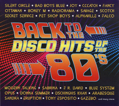 2CD  Back To The Disco Hits Of The 80's 2CD