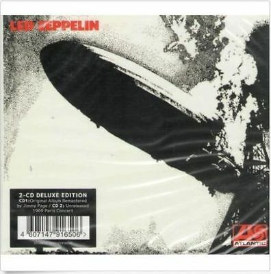 2CD   Led Zeppelin - I Remastered Limited Edition (Deluxe Edition) (2CD)