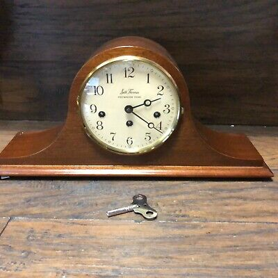 33018 Vintage SETH THOMAS Westminister Chiming Mantle Clock with Key