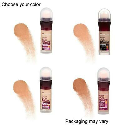New Maybelline Instant Age Rewind Eraser Treatment Makeup, Various Colors