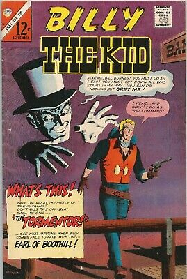 Free P & P - Billy the Kid #57 (September 1966)