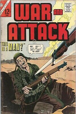 Free P & P - War And Attack #60, June 1967