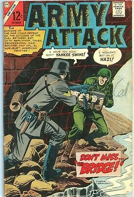 Free P & P - Army Attack # 45  (October 1966)