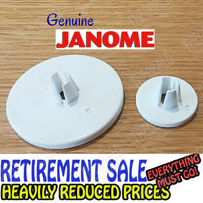 Genuine Janome Spool/Thread/Cotton Cap/Disc/Holder/Stop Sewing/Embroidery Mach.