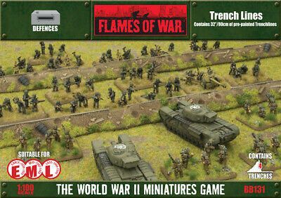 Flames of War Trench Lines Terrain By Battlefront BB131