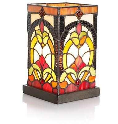 Tiffany Stained Glass Accent Lamp