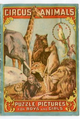 1900s California Fig Syrup Circus Animals Booklet Kid Laxative Medicine Medical