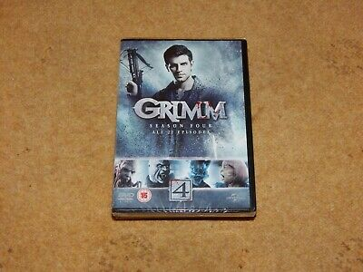 GRIMM SEASON 4 - Complete (DVD, 6-disc set) all 22 episodes. BRAND NEW SEALED