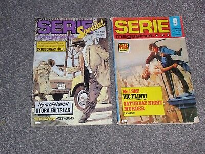 Serie Magasinet ( Finland ) Comic X 2