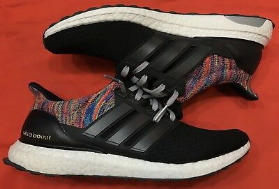 5e2074ee52c11 MI ADIDAS ULTRA boost clima sz 12.5 white red black Harden Rockets ...