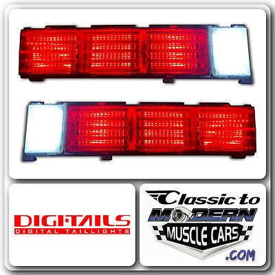 CLEAR VINTAGE TAILLIGHT KIT FOR SICKSPEED REAR FINISH PANEL CONVERSION