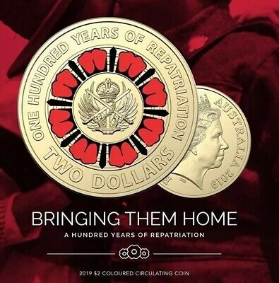 2019 100 Years of Repatriation New $2 Coins