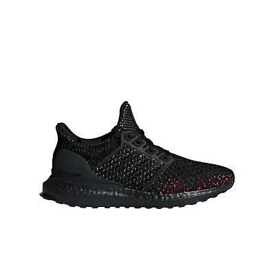 c24d77434 GS Kids Adidas Ultra Boost CLIMA Running Shoes Black   Red   Lime Sz 6  B43507
