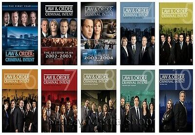 New & Sealed TV Complete Law & Order Criminal Intent Series Seasons 1 - 10