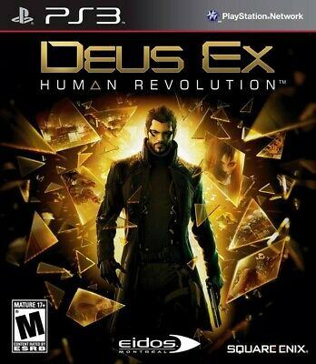 PS3 / Sony Playstation 3 game - Deus Ex: Human Revolution [Standard] US boxed