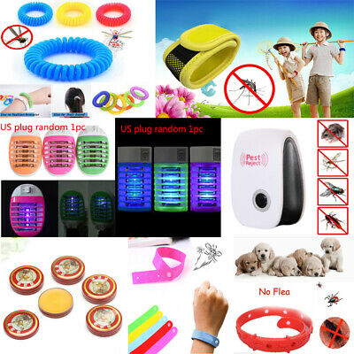 Anti Mosquito Insect Pest Bug Repeller Repellent Wrist Band Bracelet Summer Camp
