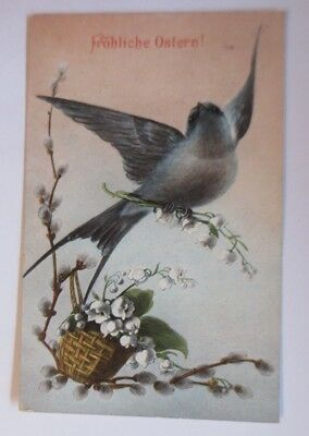 Easter, Bird, Schwalbe, Lily of the Valley, 1908 (67186)