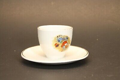 EMPIRE WARE :: 7/1932   small tea cup with saucer attached - MADE IN ENGLAND